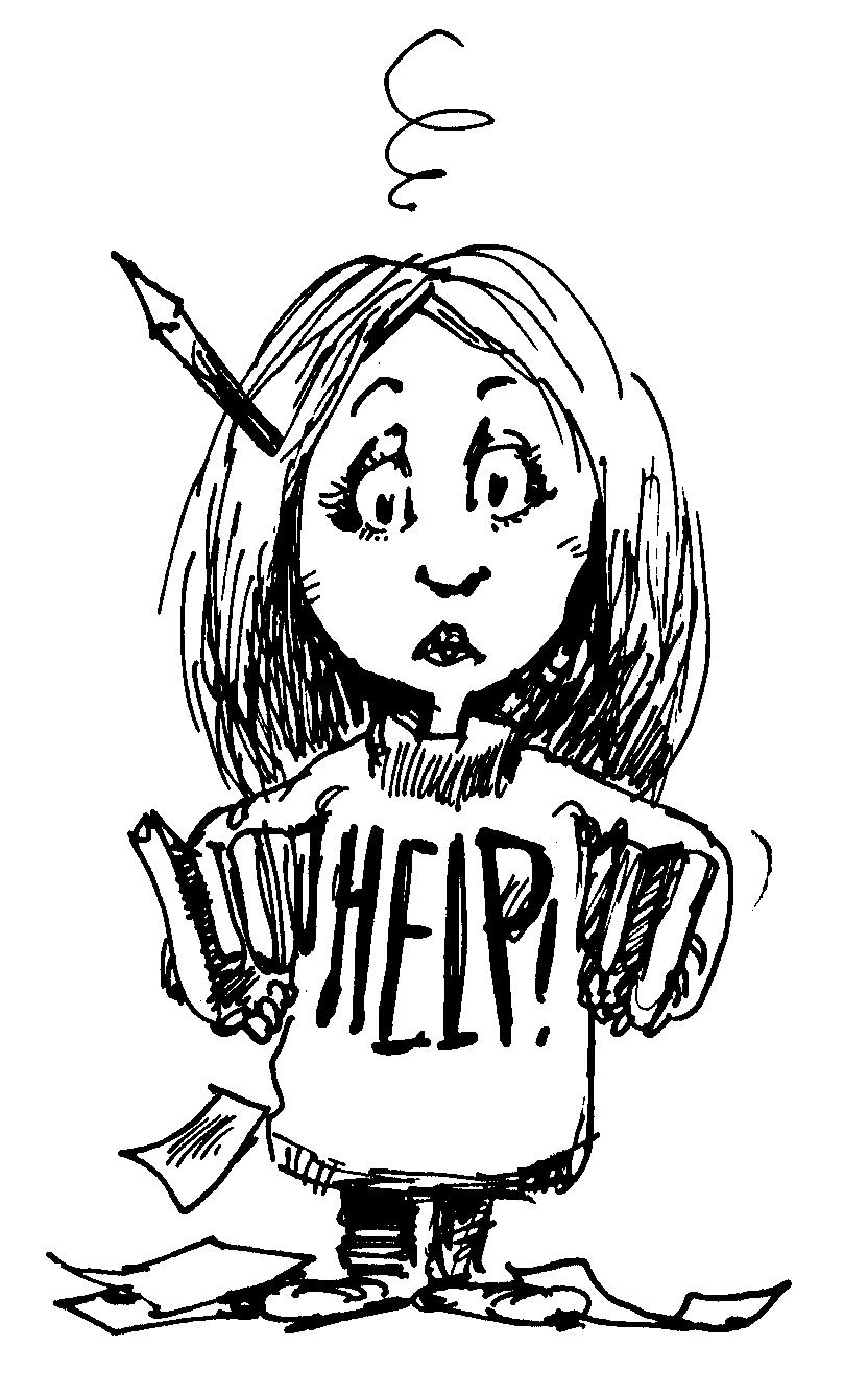 test anxiety clipart - photo #4